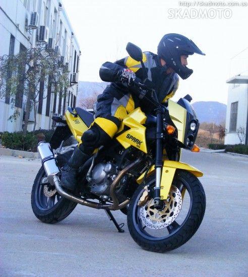 Spark 500 - Общий вид - цвет желтый